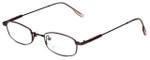 John Lennon Designer Reading Glasses JLC102-Burgundy in Burgundy 47mm