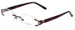 Marchon Designer Eyeglasses Airlock 830-238 in Berry 51mm :: Custom Left & Right Lens