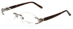 Marchon Designer Reading Glasses Airlock 830-211 in Brown 52mm