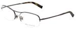 John Varvatos Designer Eyeglasses V101 in Dark-Gunmetal 56mm :: Custom Left & Right Lens