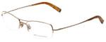 John Varvatos Designer Eyeglasses V106 in Gold 53mm :: Progressive