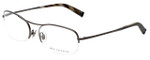 John Varvatos Designer Reading Glasses V101 in Dark-Gunmetal 56mm