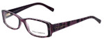 Dolce & Gabbana Designer Eyeglasses DG3076-1751 in Violet-Animal 53mm :: Custom Left & Right Lens
