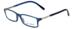 Dolce & Gabbana Designer Eyeglasses DG3096-1731 in Blue 54mm :: Custom Left & Right Lens