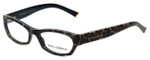 Dolce & Gabbana Designer Eyeglasses DG3115-1995-53mm in Leopard 53mm :: Custom Left & Right Lens