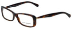 Dolce & Gabbana Designer Eyeglasses DG3139-2587 in Havana 54mm :: Custom Left & Right Lens