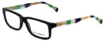 Dolce & Gabbana Designer Eyeglasses DG3148P-2756 in Matte-Black 55mm :: Custom Left & Right Lens