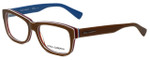 Dolce & Gabbana Designer Eyeglasses DG3178-2767 in Brown 54mm :: Custom Left & Right Lens