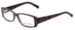 Dolce & Gabbana Designer Eyeglasses DG3076-1751 in Violet-Animal 53mm :: Rx Single Vision