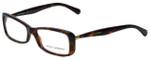 Dolce & Gabbana Designer Eyeglasses DG3139-2587 in Havana 54mm :: Rx Single Vision