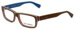 Dolce & Gabbana Designer Eyeglasses DG3180-2767 in Brown 54mm :: Rx Single Vision