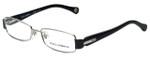 Dolce & Gabbana Designer Eyeglasses DD5093-061 in Silver-Black 51mm :: Rx Single Vision