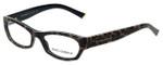 Dolce & Gabbana Designer Eyeglasses DG3115-1995-53mm in Leopard 53mm :: Progressive
