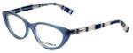 Dolce & Gabbana Designer Eyeglasses DG3162P-2715 in Opal-Azure 52mm :: Progressive