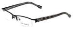 Dolce & Gabbana Designer Eyeglasses DD5095-1063 in Black 52mm :: Progressive