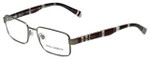 Dolce & Gabbana Designer Eyeglasses DG1238P-1236-52mm in Gunmetal 52mm :: Rx Bi-Focal