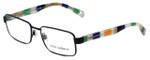 Dolce & Gabbana Designer Eyeglasses DG1238P-1237 in Matte-Black 52mm :: Rx Bi-Focal