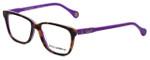 Dolce & Gabbana Designer Eyeglasses DG1238-2608 in Havana-Violet 52mm :: Rx Bi-Focal
