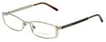 Burberry Designer Eyeglasses B1238-1145 in Gold 52mm :: Custom Left & Right Lens
