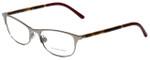 Burberry Designer Eyeglasses B1249-1006 in Dark Silver 51mm :: Custom Left & Right Lens