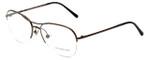 Burberry Designer Eyeglasses B1225-1143 in Bronzed Silver 53mm :: Progressive