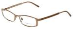 Burberry Designer Eyeglasses B1238-1129 in Rose Gold 52mm :: Progressive
