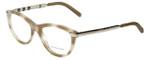 Burberry Designer Eyeglasses B2161Q-3427 in Beige Havana 51mm :: Progressive