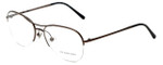 Burberry Designer Eyeglasses B1225-1143 in Bronzed Silver 53mm :: Rx Bi-Focal