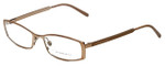 Burberry Designer Eyeglasses B1238-1129 in Rose Gold 52mm :: Rx Bi-Focal