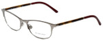 Burberry Designer Eyeglasses B1249-1006 in Dark Silver 51mm :: Rx Bi-Focal