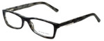 Burberry Designer Eyeglasses B2076-3143 in Striped Grey 52mm :: Rx Bi-Focal