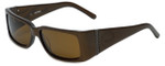 Harley-Davidson Designer Sunglasses HDX813 in Brown with Amber Lens