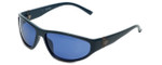 Harley-Davidson Designer Sunglasses HDX881 in Blue with Blue Lens