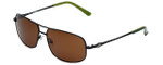 Harley-Davidson Designer Sunglasses HDX894 in Black with Brown Lens