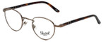 Persol Designer Eyeglasses PO2379-956 in Matte-Brown 44mm :: Rx Single Vision