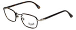 Persol Designer Eyeglasses PO2423VJ-992 in Matte-Dark Brown 50mm :: Rx Single Vision