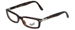 Persol Designer Eyeglasses PO2934V-24 in Havana 51mm :: Rx Single Vision