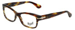 Persol Designer Eyeglasses PO3054V-938 in Havana 51mm :: Rx Single Vision