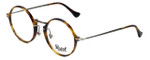 Persol Designer Eyeglasses PO3091V-108 in Light Havana 49mm :: Rx Single Vision