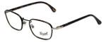 Persol Designer Eyeglasses PO2423VJ-992 in Matte-Dark Brown 50mm :: Progressive