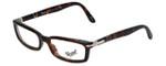 Persol Designer Eyeglasses PO2934V-24 in Havana 51mm :: Progressive