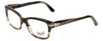 Persol Designer Eyeglasses PO3011V-940 in Brown Stripped 52mm :: Progressive