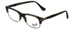Persol Designer Eyeglasses PO3033V-996 in Matte Green Horn 50mm :: Progressive