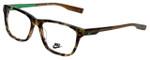 Nike Designer Eyeglasses NK7230KD-250 in Tokyo Tortoise Raw Umber 52mm :: Custom Left & Right Lens