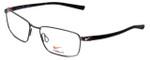 Nike Flexon Designer Reading Glasses NK4212-048 in Gunmetal / Black 55mm