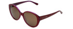 Judith Leiber Designer Reading Glasses JL5017-04 in Ruby in Brown Lens