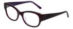 Judith Leiber Designer Eyeglasses JL3011-07 in Amethyst 52mm :: Custom Left & Right Lens