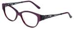 Judith Leiber Designer Eyeglasses JL3010-07 in Amethyst 52mm :: Progressive