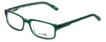 Arnette Designer Eyeglasses Mixer AN7057-1129 in Translucent Green 51mm :: Custom Left & Right Lens