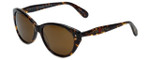 Betsey Johnson Designer Sunglasses Betseyville BV113-02 in Espresso with Brown Lens